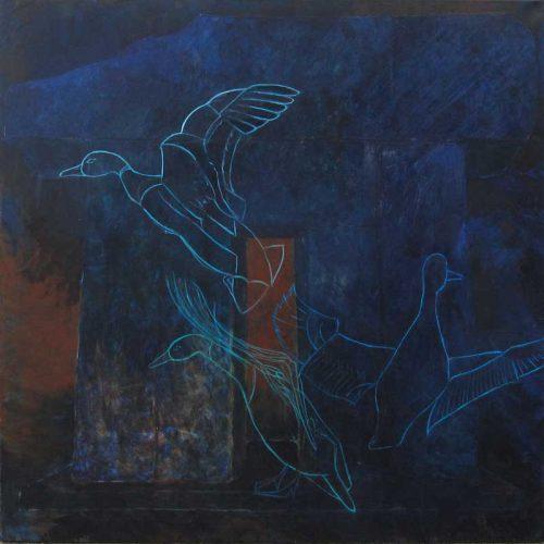 akrylmaleri af Maja de Hemmer
